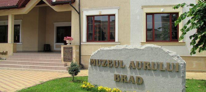 MUZEUL AURULUI BRAD – aspecte din istoricul mineritului din Munții Apuseni