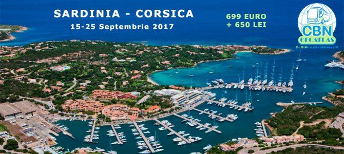 SARDINIA – CORSICA 2017, 15 – 25 septembrie 2017