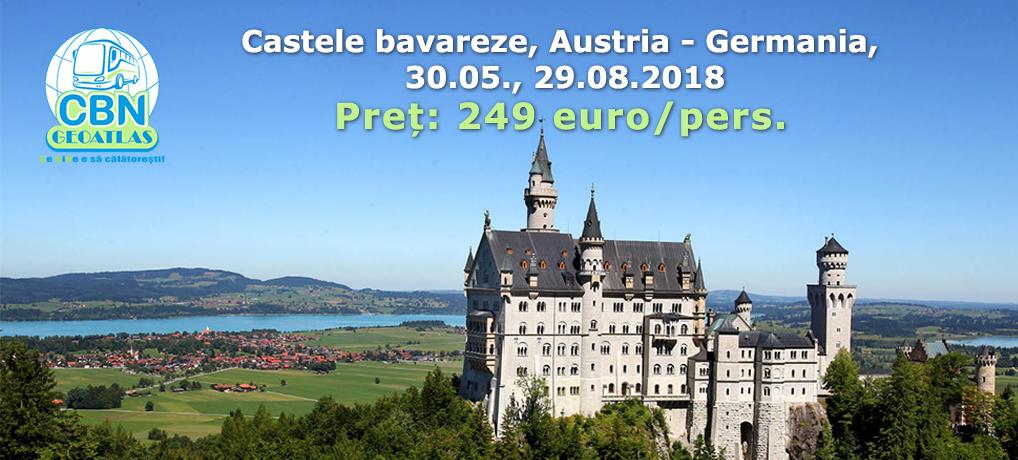 Castele bavareze, Austria – Germania, 30.05., 29.08.2018
