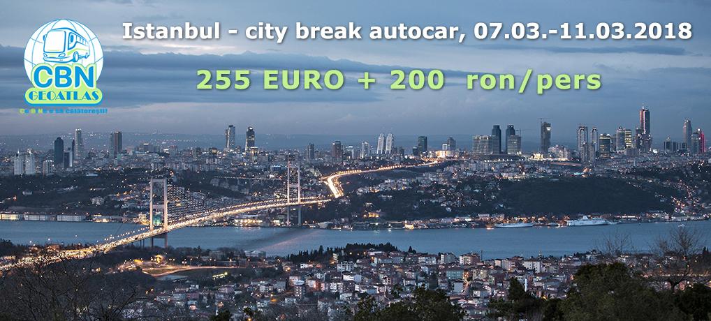 Istanbul – city break autocar, 07.03.-11.03.2018