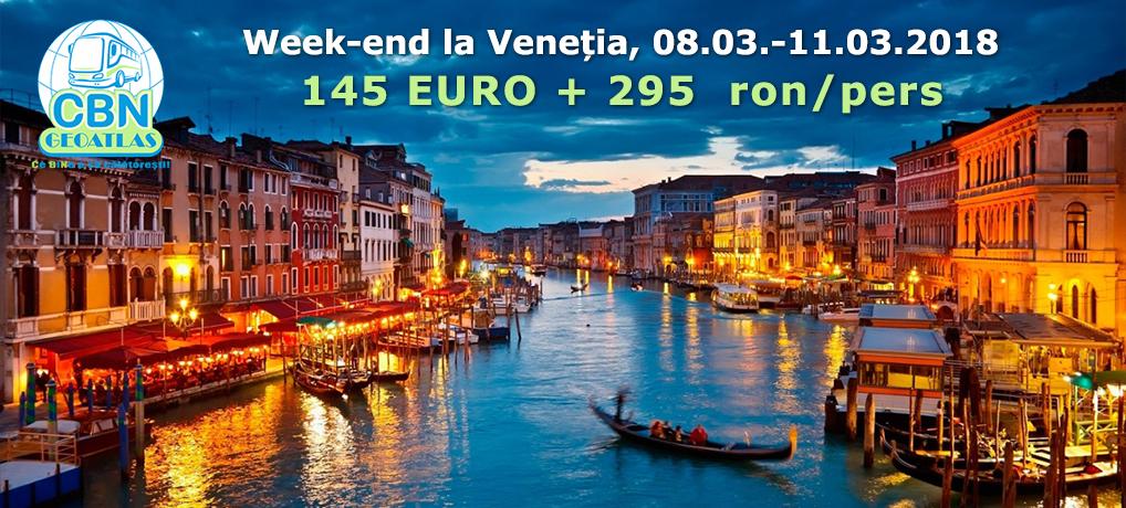 Week-end la Veneția – 08-11.03.2018